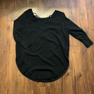 Oversized Black Sweater